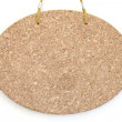 Blank cork board - Stock Photo
