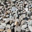 Gray gravel - Stock Photo