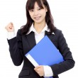 Young asian businesswoman — Stock Photo