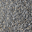 Gray gravel background - Stock Photo
