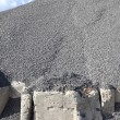 Stock Photo: Gray gravel mound