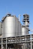 Planta de refinaria — Fotografia Stock