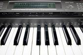 Elektronik piyano — Stok fotoğraf