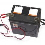 Battery power — Stock Photo