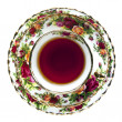 Foto Stock: English China Tea Cup