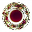 Foto de Stock  : English China Tea Cup