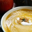 Pumpkin Soup — Stock Photo #7181332