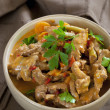 Foto Stock: Red Thai Beef Curry