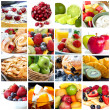 Fruits Collage — Stock Photo #7711528