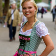 Stock Photo: Young girl in dirndl