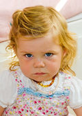 Portait of a baby — Stock Photo
