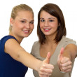 Thumbs up — Stock Photo #7602695