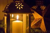 Lamp en ster — Stockfoto