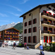 Stock Photo: Zermatt Hotels