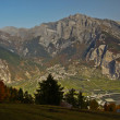 Swiss Alps in Autumn — Stock Photo