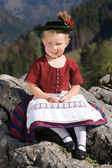 Bavarian toddler — Stock Photo