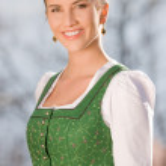 Portrait of a Bavarian girl — Stock Photo