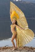 Samba girl — Stock Photo