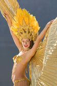 Samba girl — Stock Photo