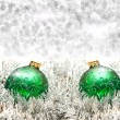 Christmas ball on lighten background — Stock Photo #7673522