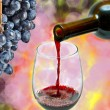 Red wine — Stock Photo #7766269