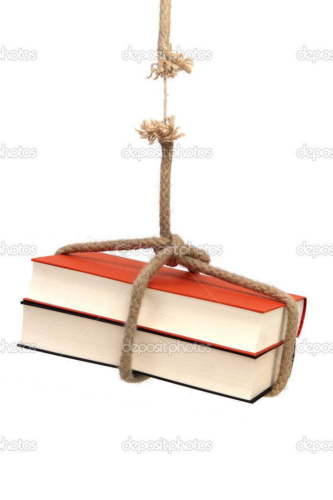 Heavy literature  Stock Photo #6783044