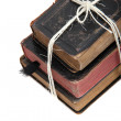 Foto Stock: Stack of old books