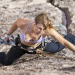 Female rock climber. — Stock Photo #7406425