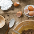 Royalty-Free Stock Photo: Cake ingredients