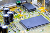Single chip to digitize, decode video and capture — Stock Photo