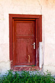 Old rural doors — Stock Photo
