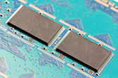 8 gigabytes memory modules SMD Single State Drives - SSD — Stock Photo