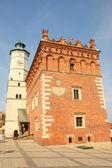 Sandomierz town hall — Stock Photo