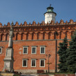 Sandomierz old town - town hall - Stock Photo