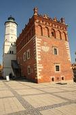 Rådhuset i sandomierz — Stockfoto