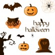 Halloween set — Stock Vector #7137165