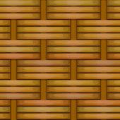 Wicker basket weaving pattern seamless texture — Stock Vector