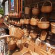 Польша. Продажа ремесленных изделий в Kazimezhe воспроизводящие — Стоковое фото