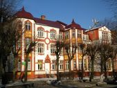 German building of the beginning of the XX-th century in Zelenogradsk the K — Stock Photo