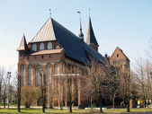 Kaliningrad, Russia. A cathedral. — Stock Photo