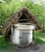 Antigua bodega en el pueblo de Ucrania — Foto de Stock