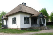 Old rural school in Ukraine — 图库照片