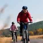 relajarse ciclismo — Foto de Stock
