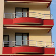 Royalty-Free Stock Photo: Apartment block