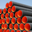 plastic pipe — Stock Photo