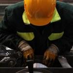 Laborer — Stock Photo