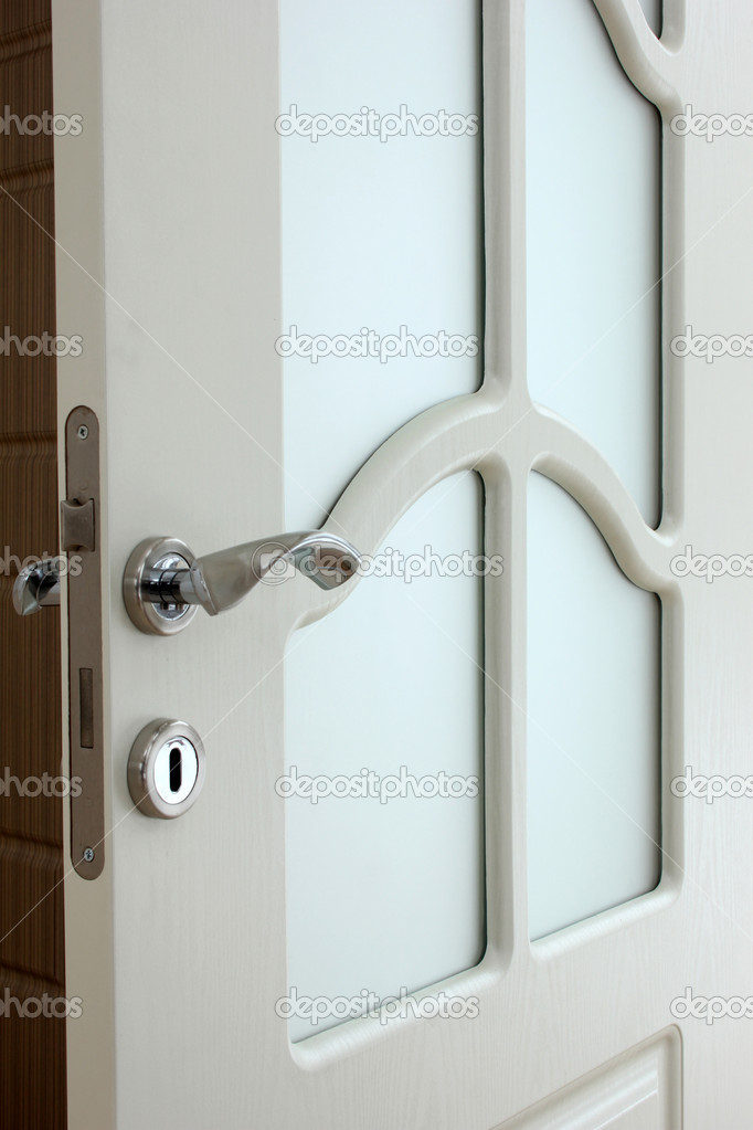 Wood door — Stock Photo #6969900