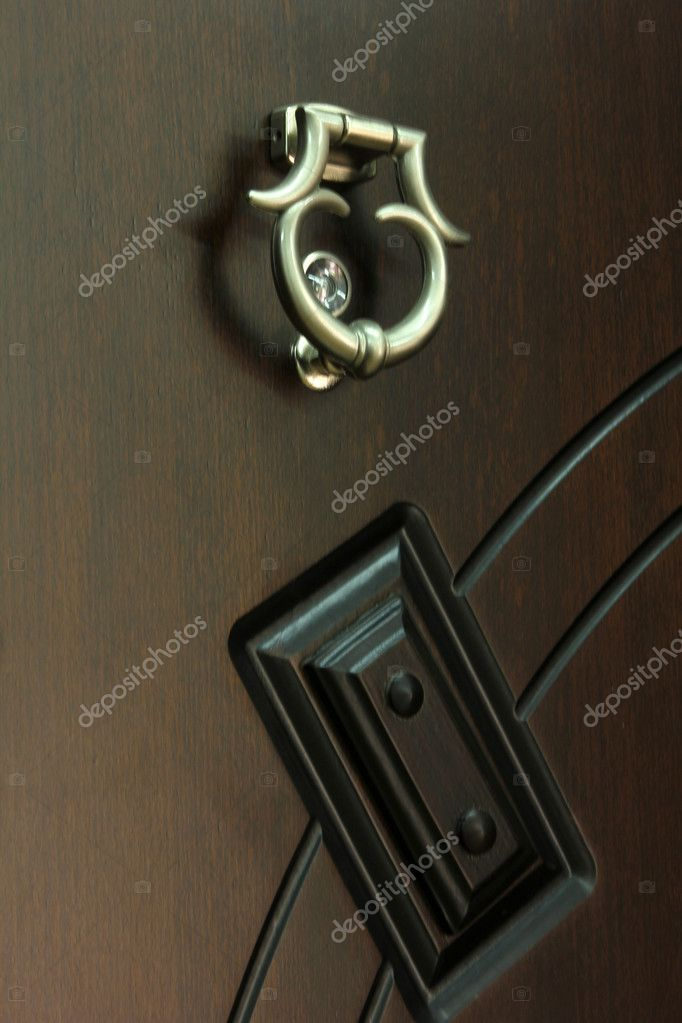 Wood door — Stock Photo #6985085