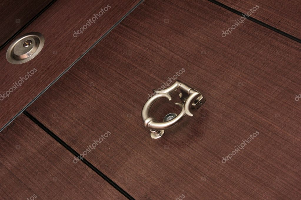 Wood door — Stock Photo #6986219