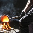 Casting factory — Stock Photo